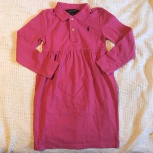 Ralph Lauren long sleeve little girl dress